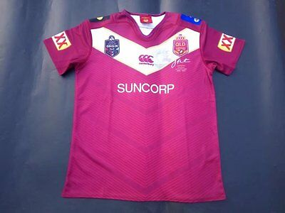 2017 QLD MAROONS 6 THURSTON Rugby Jersey Short Sleeve