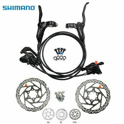 SHIMANO Mountain Bike Disc Brakes BR-BL-M395 Hydraulic Disc Brake Front Rear Set
