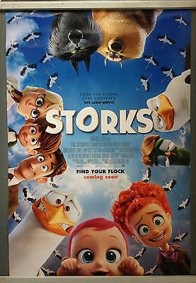 Cinema Poster: STORKS 2016 (One Sheet) Andy Samberg Katie Crown