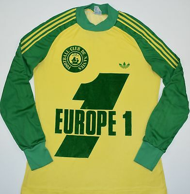 1978-1979 Fc Nantes Adidas Ventex Home Football Shirt (Size S)