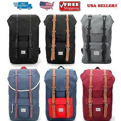Original 25L Herschel Supply Co.Little America Travel Laptop Backpack Pack Bag