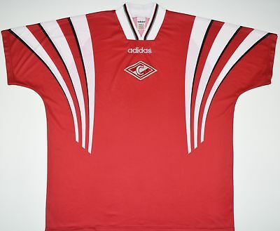 1997-1998 Spartak Moscow Adidas Home Football Shirt (Size L)