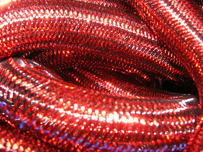 Red Metallic Tubular Crin Cyberlox