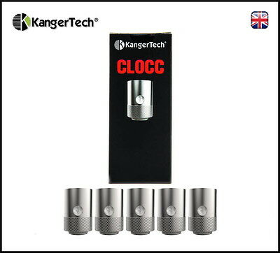 Genuine Kanger CLOCC Organic Cotton Coils 1.0ohm (Box of 5) TOGO CUPTI