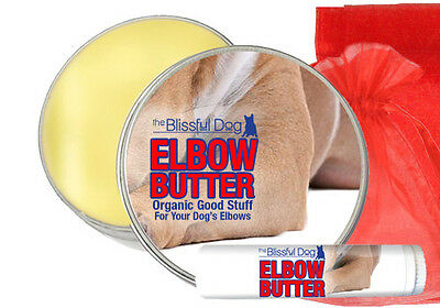 Blissful Dog Elbow Butter  1oz,tin.  all breeds dry elbow patches sore elbow