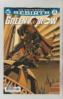 Green Arrow #28 (2017) 1St Printing Variant Cover Dc Universe Rebirth