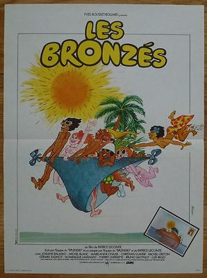 LES BRONZES 1978 Affiche Originale 40x50 FRENCH FRIED VACATION Movie Poster