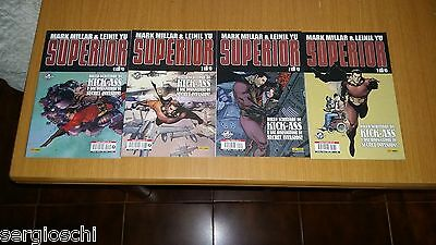 Superior 1 2 3 4-Serie Completa-Mark Millar-Leinil Yu-Panini Comics Mix-Ww23