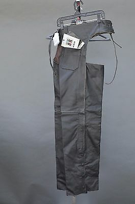 River Road Vintage Motorcycle Biker Chaps Small New ++ Free Shipping Canada Usa!