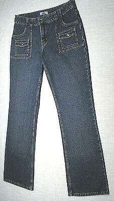 Used OLD NAVY Bush Jeans (Vtg LEVI'S Style) Dark Blue NICE FADE! WOW! 33x31