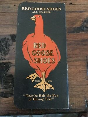 Vintage Advertising Red Goose Shoes Note Pad Unused