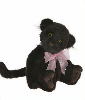 Chica, Panther from the 2017 Charlie Bears Collection
