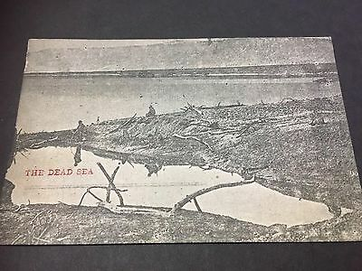 1918 Post Card Souvenir Of The Occupation Of Palestine By British Troops