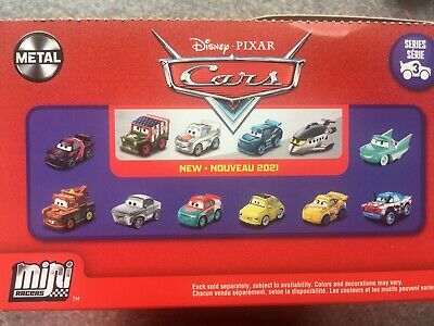 ** PRICE DROP ** NEW Disney Pixar Cars 3 Mini Racers - In Blind Bags