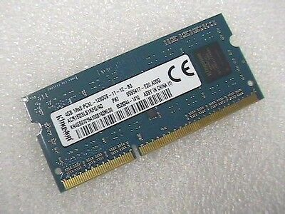 4Gb DDR3L-12800S laptop 204-pin SODIMM RAM made by Kingston