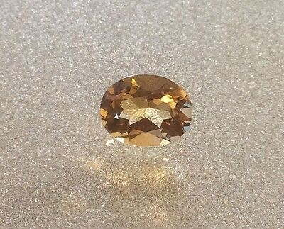 1 Pc X Oval Cut Shape Natural Citrine 6Mm X 4Mm Faceted Loose Gemstone