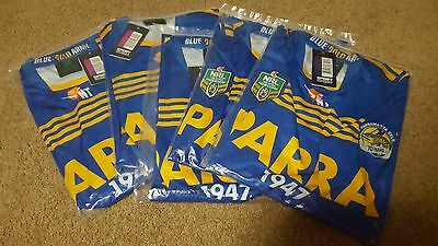 70 Years! Parramatta Eels NRL 2017 Home Jersey... Brand new with Tags !!!!! ....