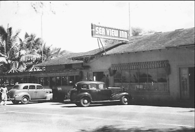"""ORIGINAL SEA VIEW INN HALEIWA UNMOUNTED 12 x 18"""" PHOTO ON CRYSTALL ARCHIVE PAPER"""
