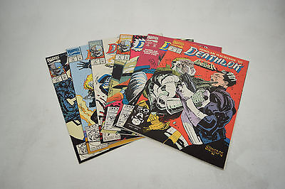 Deathlok Comic Books 6 Lot 6 7 8 9 10 11 NM Punisher Ghost Rider