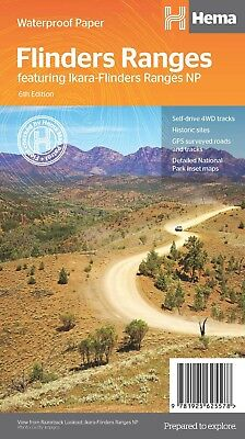 Hema Flinders Ranges 4Wd Explorer Touring Camping Map 5Th Edition
