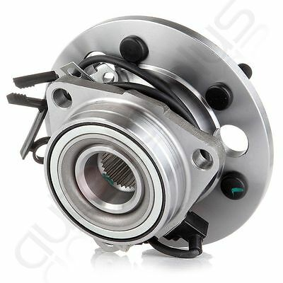 Front Wheel Hub & Bearing Assembly for Chevy GMC Pickup Truck Tahoe w/ ABS 4WD