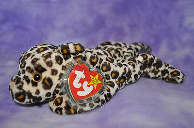 TY Rare Beanie Rare 1996 Freckles the Leopard   ~NWNMT #T28