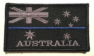 Thin Blue Line Patch, Police, Subdued, TBL, Law Enforcement