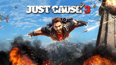 Just Cause 3 (Microsoft Xbox One, 2016) Account  ON SALE NOW ENDS 10.8.17