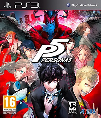 Persona 5 PS3 Game Brand New * AU STOCK*