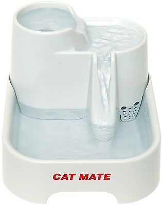 Cat Mate Pet Automatic Water Fountain Dispenser Drinking Bowl Cats Dogs Kitten