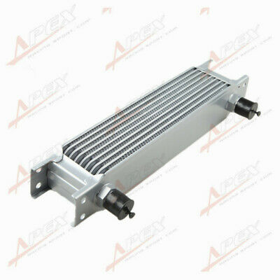 Universal 7 Row AN10 Engine Transmission Oil Cooler For Celica MR2 RSX SUPRA AU