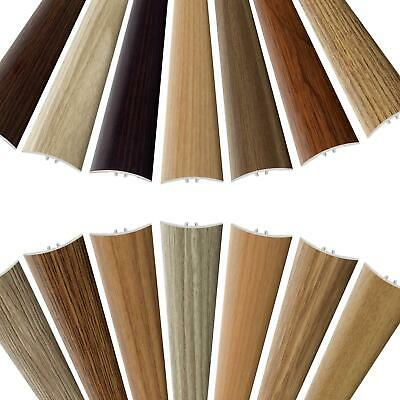 UPVC SELF-ADHESIVE Wood Effect Door Edging Floor Trim Threshold 1000 x 40mm E64