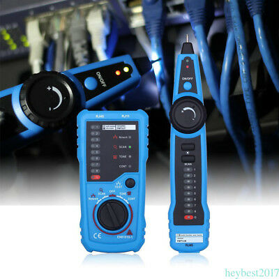 Telephone Network Cable Wire Line Finer Tone Generator Tracker Tester Tracer CF2