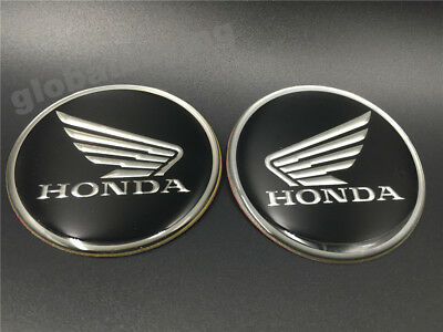 6CM Motorcycle Fuel  Tank Faring Badge Gel Emblem Decal Sticker for Honda Wing