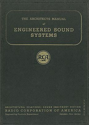 The Architect's Manual Of Engineered Sound Systems (RCA 1947)