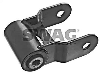 SWAG Rear Axle Leaf Spring Mounting x2 pcs Fits OPEL RENAULT VAUXHALL 4419516