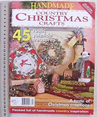 HANDMADE 45 Collector Edition Country CHRISTMAS Craft Vol24 No12 - 148Pages Chr2