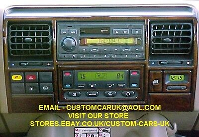 Walnut Or Carbon Fibre Dash Kit - Land Rover Discovery 2 TD5 (1999-2004) RHD LHD