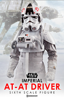 Star Wars Sideshow Collectibles Sixth Scale Imperial At-At Driver
