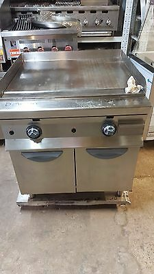 Natural Gas Free Standing Flat Griddle