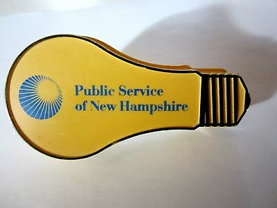 - vintage - Advertising Night Light - Public Service Company of New Hampshire