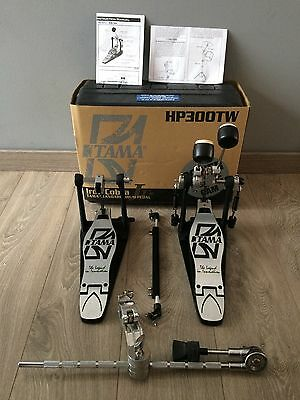 "TAMA-HP300TWB ""Iron-Cobra Jr. Standard Drum-Pedal +case & 1 cymbal attachement"