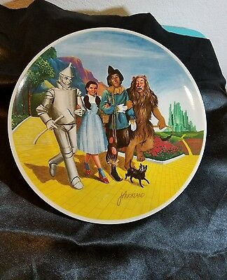 Knowles Plate The Grand Finale Wizard of Oz 1979