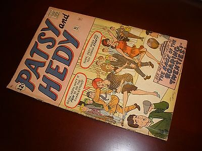 Marvel Comics Patsy & Hedy # 85 Nice Copy