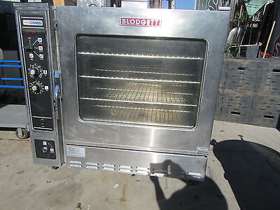 Blodgett Cos-8G/ab Combi Oven Gas Steamer & Oven Commercial Oven On Casters