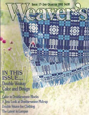 Weaver's magazine 17: ~ DOUBLE WEAVE color and design ~
