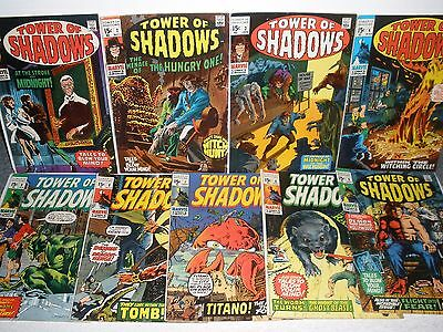 Marvel Comics Tower of Shadows # 1 2 3 4 5 6 7 8 9 Nice Set