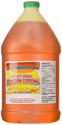 Butter Flavor Popcorn Topping Oil (Gallon)