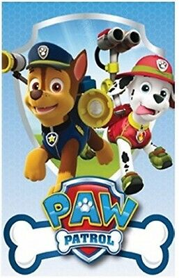 Official Paw Patrol Boys Chase & Marshall Blanket Throw Children Kids