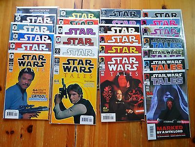 STAR WARS TALES (1999) 1-24 full run Artwork covers every issue NM